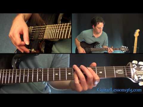 Detroit Rock City Guitar Lesson - KISS | Guitar Lessons 365