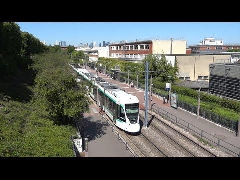 Tramway de Paris - Ligne T2 - Entre Puteaux & St Cloud