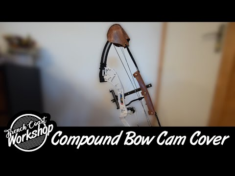 Leather Compound Bow Cam Cover || DIY