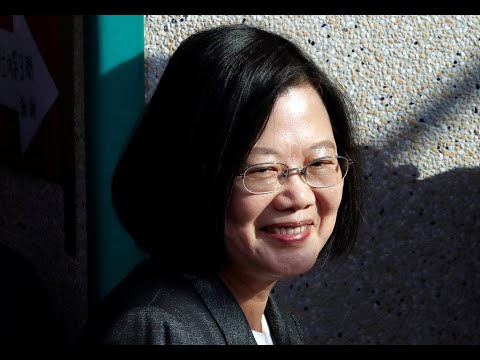 Download President Tsai Ing-wen declares victory in Taiwan election, opposition candidate concedes defeat