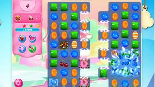 Candy Crush Saga Level 3186 -8 Moves- No Boosters