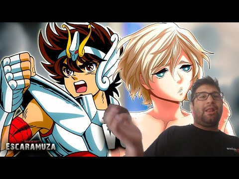Reaccion Seiya Vs Adán RAP | Escaramuza | Keyto
