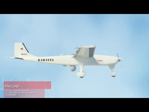 Karayel Tactical UAV - Vestel Savunma Sanayii