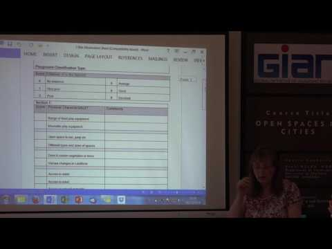 Lecture 3: green flag criteria open spaces