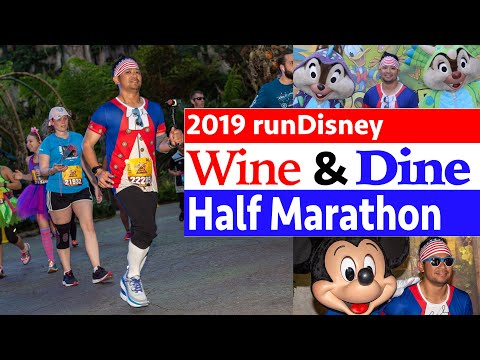 2019 RunDisney Wine & Dine Half Marathon