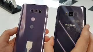 Primo confronto LG V30 vs Samsung Galaxy S8+
