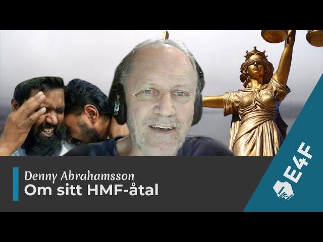 Denny Abrahamsson om HMF och sin medalj