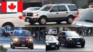 *First Capture* Vancouver Police ERT, K-9, & Gang Unit Responding Siren & Lights