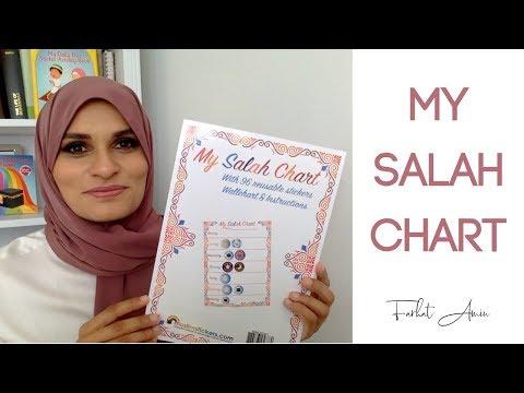 Salah Chart, Teach Kids Salat, Teach Namaz, Learn Salah for Kids, Salah Tracker, Teach Salat
