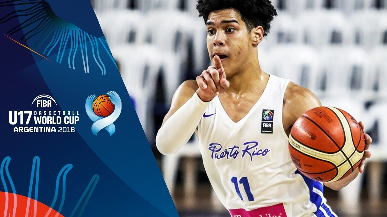 Jermaine Miranda Perez (24 PTS, 11 REB) has a run in the 3rd Place Game vs. Canada
