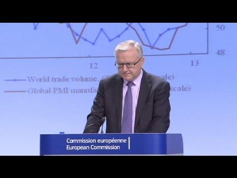 Брюссель: спад в еврозоне в 2013 продолжится