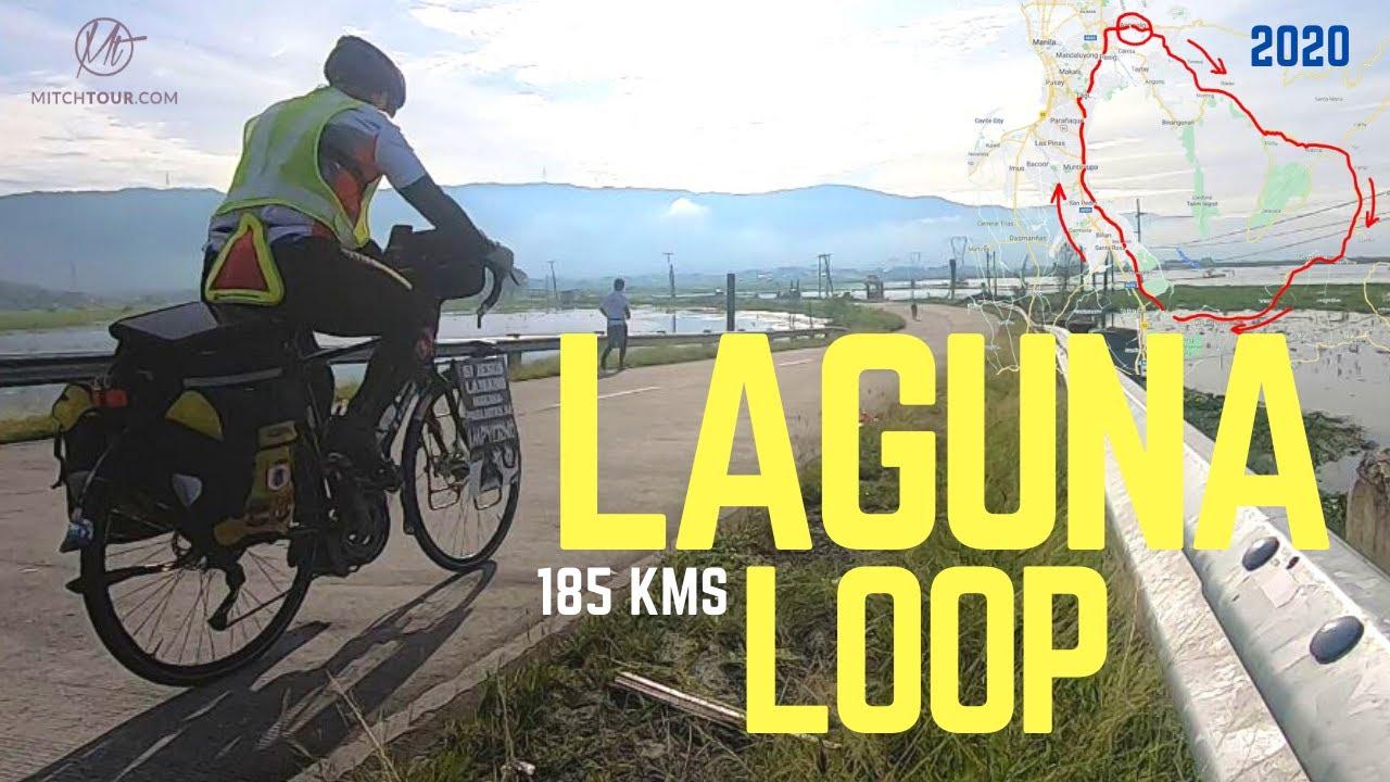 LAGUNA LOOP—185 KMS in ONE DAY!