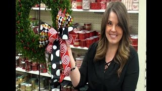 Making a Funky Holiday Bow with Anna 2016