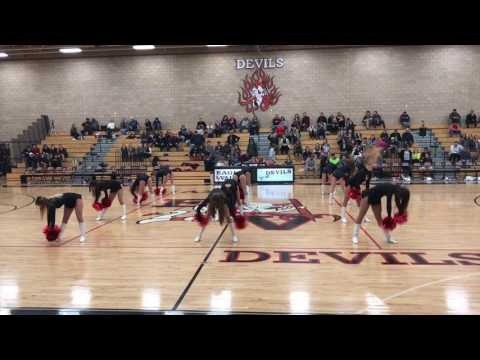 Eagle Valley High School Devil Dancers 1/20/17