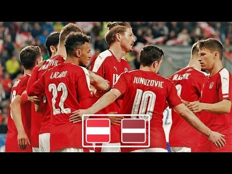 Австрия - Латвия обзор матча сборных по футболу