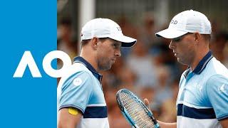 Bryan/Bryan v Cabal/Munar match highlights (2R) | Australian Open 2020