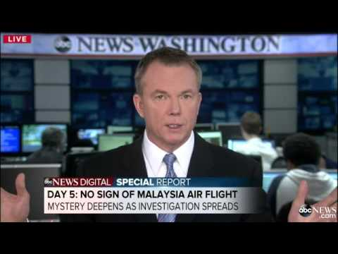 Pilot's Last Words Revealed as the Hunt for Malaysian Flight 370 Continues