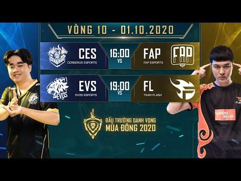 FAP có thêm 2 điểm, FL thắng dễ EVS - Vòng 10 Ngày 1 - ĐTDV mùa Đông 2020