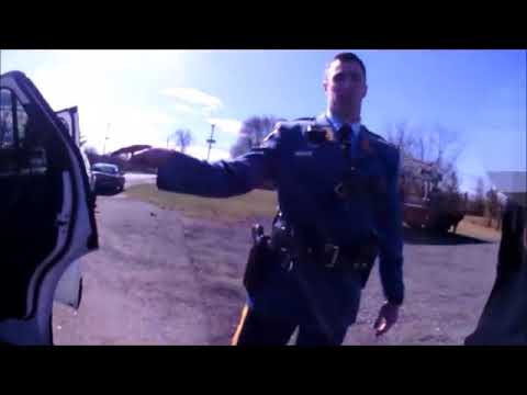 New Jersey State Police Illegal Body Cavity Search On Side Of Highway (i smell weed)