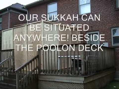 Sukkah   Custom Built Sukkah      Youtube   YouTube