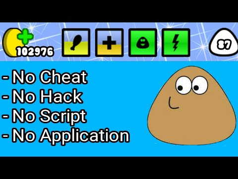 Tutorial Pou Dapat Banyak Coin No Cheat, No Script, No Hacking