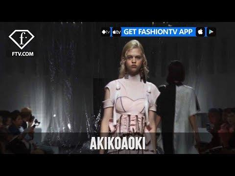 Tokyo Fashion Week Spring/Summer 2018 - AKIKOAOKI | FashionTV