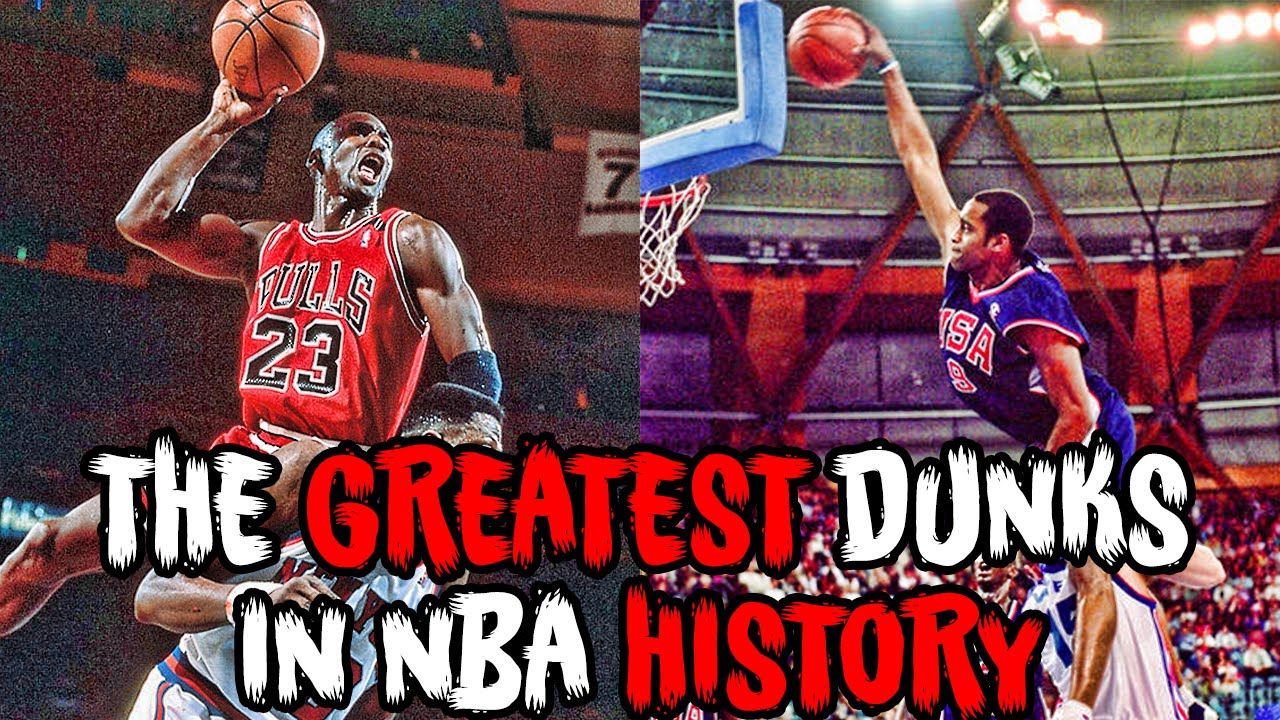 the 7 greatest dunks in the history of basketball youtube