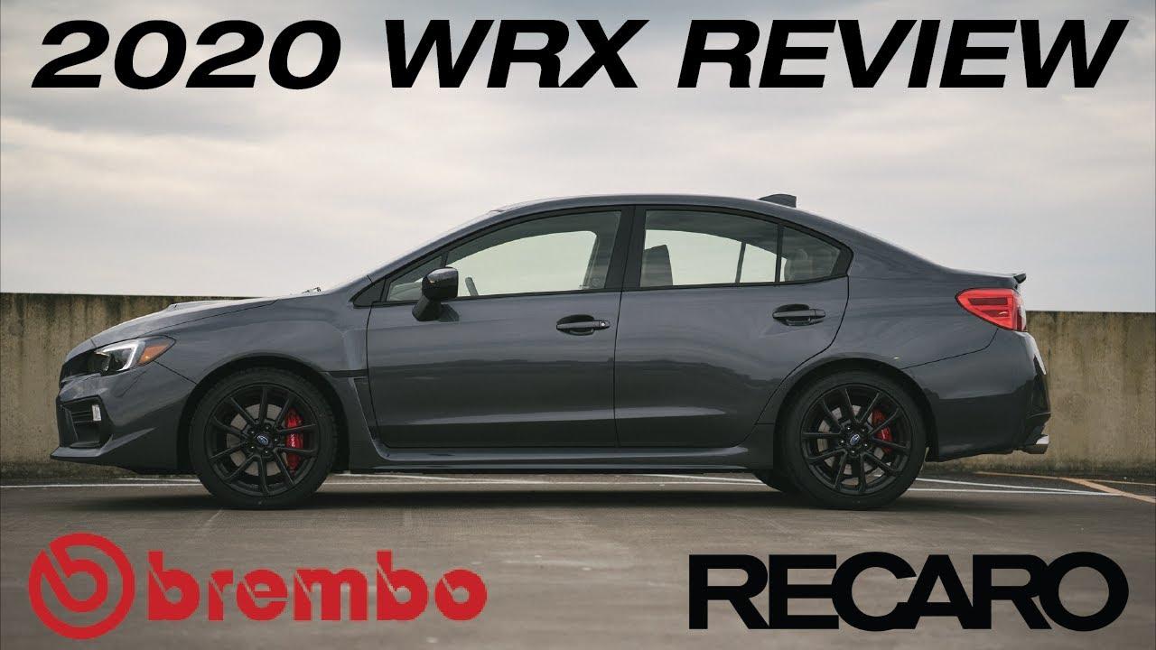 2020 Wrx Review.Review 2020 Subaru Wrx Premium Performance Package Brembo Recaro What S New