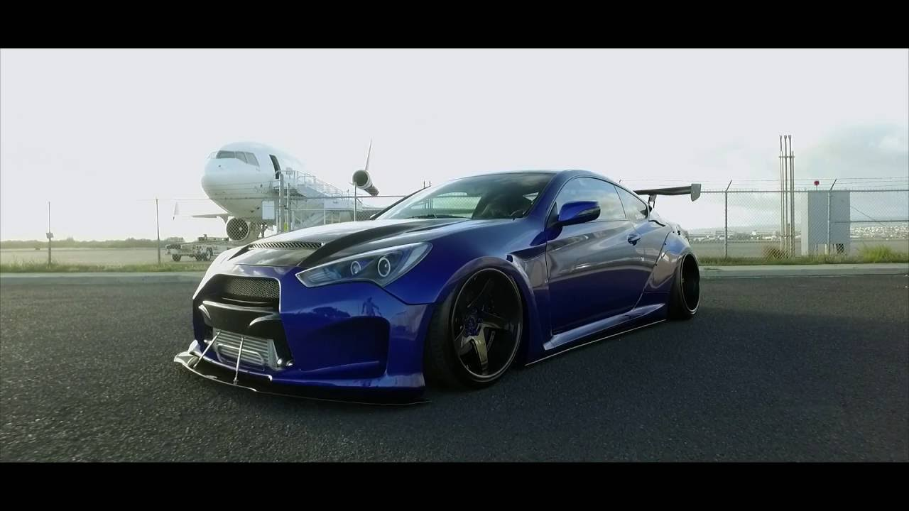 sxygen widebody hyundai genesis coupe youtube. Black Bedroom Furniture Sets. Home Design Ideas