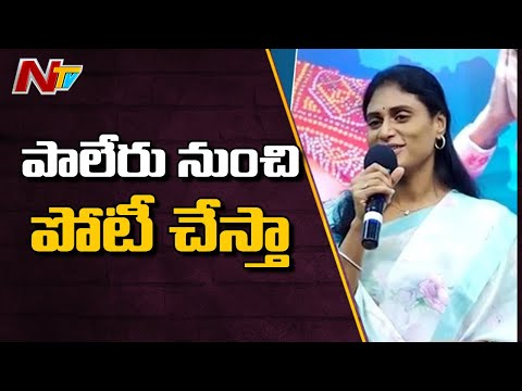 YS Sharmila To Contest from Paleru Constituency | NTV