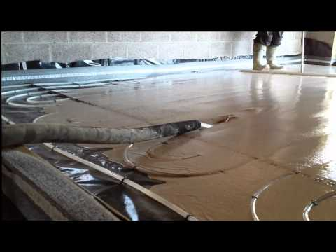 Liquid screed services at Heating and Screed Ltd