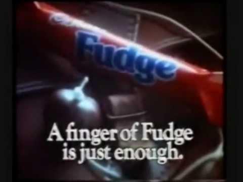 Classic Ads: A finger of Fudge