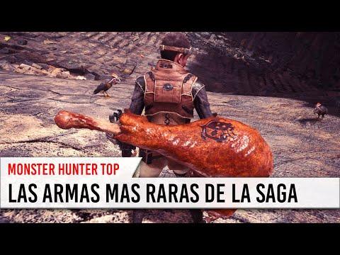 Monster Hunter - Las 10 armas MAS EXTRAÑAS de la saga [Abril 2019] thumbnail