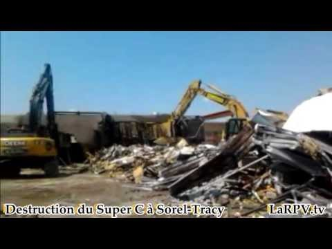 LaRPV 2013 - La Destrution Du Super C à Sorel-Tracy