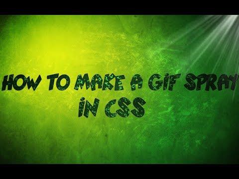 How To Make A GIF Vtf Spray +extra Css Spray