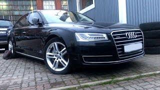 Как умирает роскошь! Audi A8 2014 год, 3.0 d!