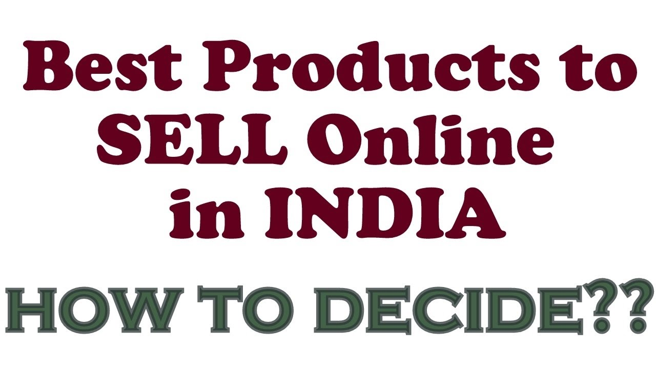 How to shortlist best sellers in amazon india