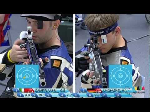 26th SU Shenzhen (CHN) - Shooting Sport: 50m Rifle 3 Positions Men's Final