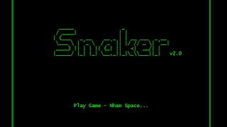 Console Game Snaker v2.0 - C++ - Code::Blocks - Trailer