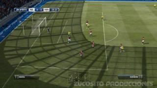 PES 2012 vs FIFA 12 [GAMEPLAY] [ PARTE I ]