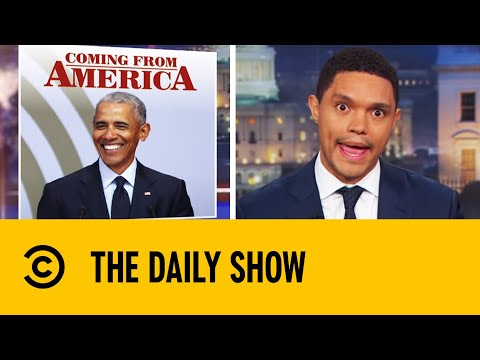 The Roast Of Barack Obama | The Daily Show With Trevor Noah thumbnail