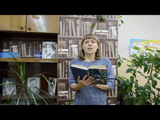 Изображение предпросмотра прочтения – ИринаВялых читает произведение «Вот опять окно» М.И.Цветаевой