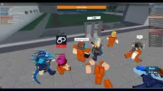 Roblox Hacker Prison break (too lazy to edit)
