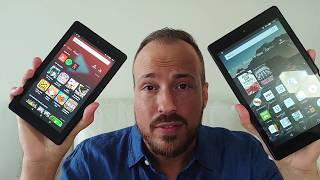 Amazon Fire 7 and HD 8 tablets blogger review
