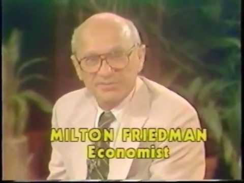 Milton Friedman on Donahue 1979 (Full Segment)