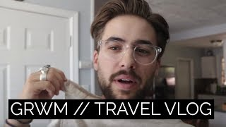 Get Ready With Me 2017 / Travel Vlog | Palm Springs Weekend | Dapper Journal