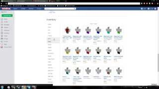 BEST 2014 How to Sell T-shirts/Stuff on ROBLOX Tutorial [Voice, 1080p]!