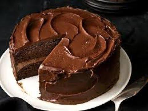 Moist Chocolate cake recipe Truffle cake No Egg Without ...