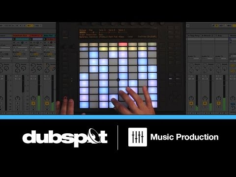 Ableton Push Tutorial: Live Production and Performance Techniques Part 1 w/ Dan Freeman