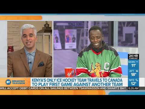Kenya's Ice Hockey Team Comes To Canada